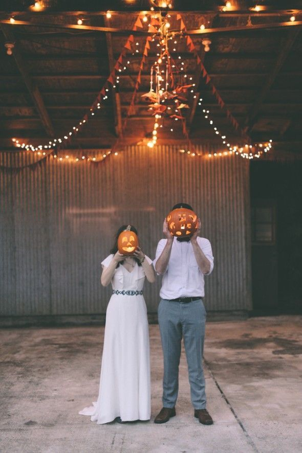 Halloween Rustic Wedding