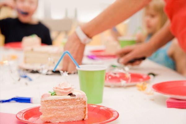mum with kids birthday cake - Google Search