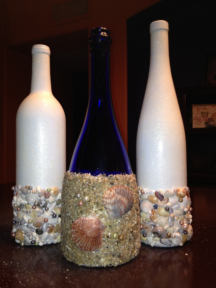 10 images about wine bottle decorations on pinterest