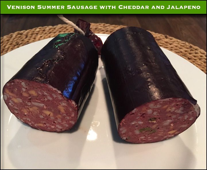 Deer hunting season is here!  Getting some recipes together in preparation for that tasty venison!  Here's one for an awesome Summer Sausage.