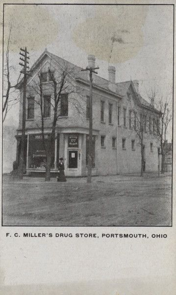 Miller's Drug Store stood at the corner of 9th and Waller. Built in the 1890s, it was just demolished in February (2016).