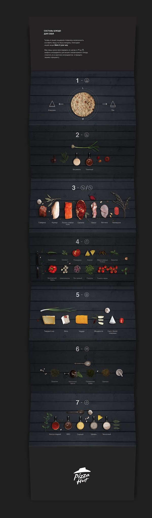 Food menu design on Behance