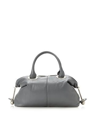 Z Spoke by Zac Posen Women's Judy Satchel (Grey)
