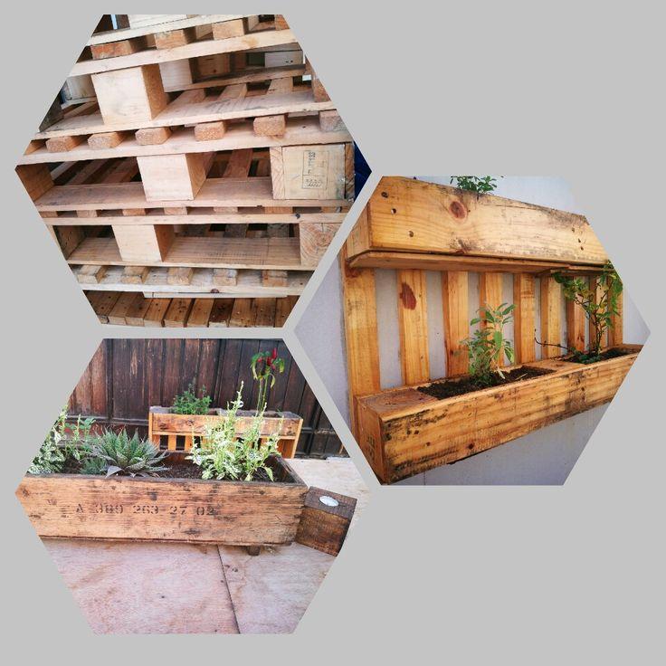Wood proyect 9 Maceteros con pallets #diseñorustico