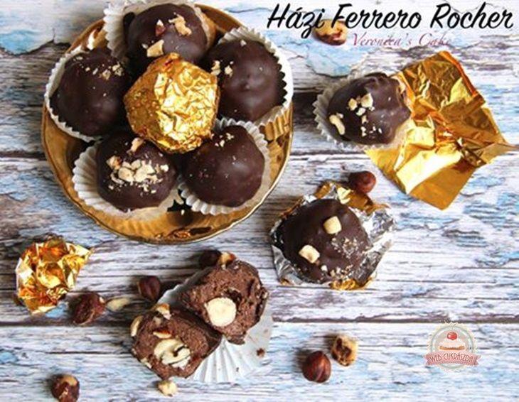 Házi Ferrero Rocher