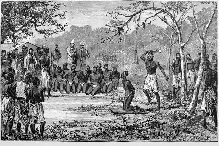 La colonización del que se conoció como Congo belga, provocó la muerte de más de 10 millones de nativos y la practica destrucción de su cultura.