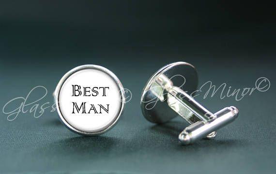 Best Man Cufflinks, Personalized Cufflinks, Custom Cufflinks, Initials Cufflinks, Groomsmen Usher, Wedding Cufflinks, Anniversary Gift