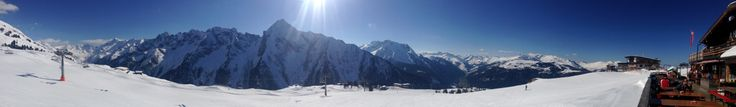 Panorama Mayrhofen Ahornhütte Tirol