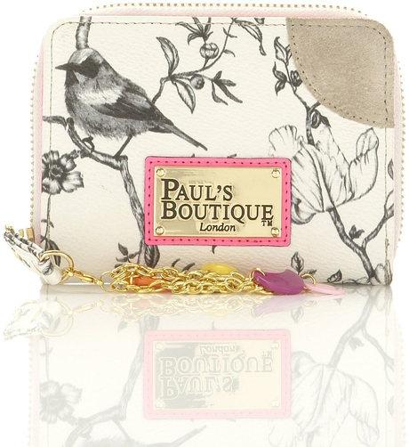 Paul's Boutique bird print purse.