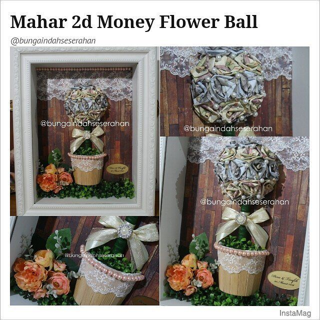 Mahar 2d Money Flower Ball