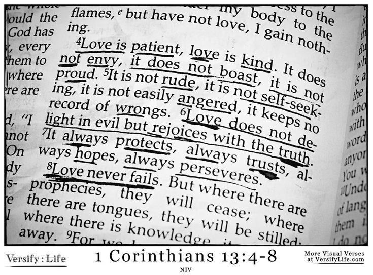 Pin by Versify Life on 1 Corinthians Bible Verse Images