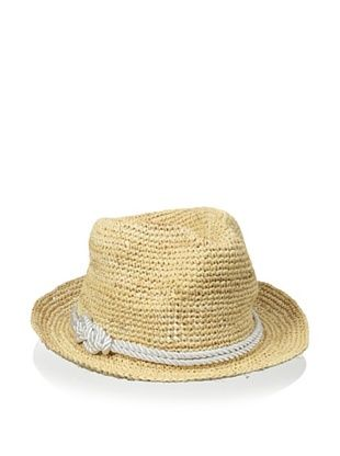 44% OFF Straw Studios Women's Raffia Fedora, Natural