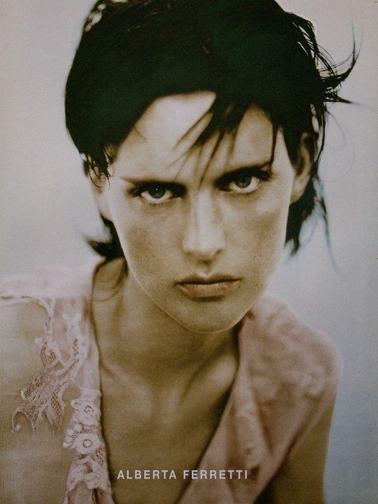 fuckyeahpaoloroversi:  Stella Tennant photographed by Paolo Roversi - Alberta Ferretti Ad Campaign