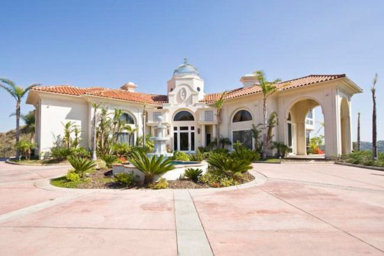 casablanca mansion sits alone atop one of the highest