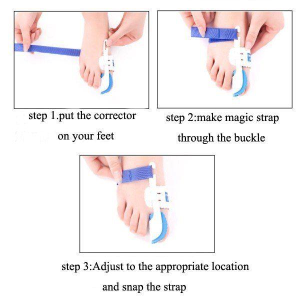 Plastic Big Toe Corrector