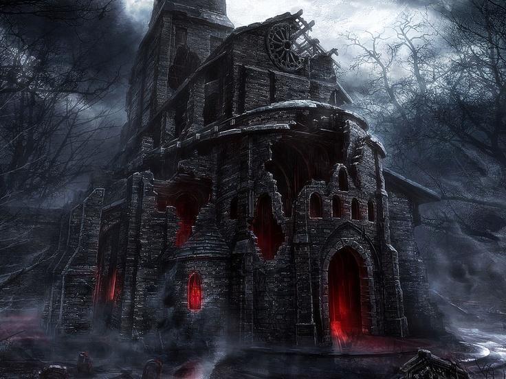 vampire house..... Ireland