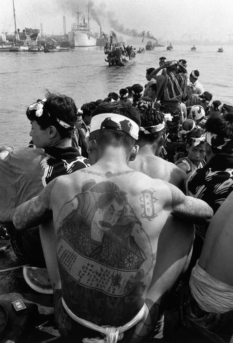 Japan, 1956 by Dennis Stock #historyoftattoos #historytattoos #t4aw
