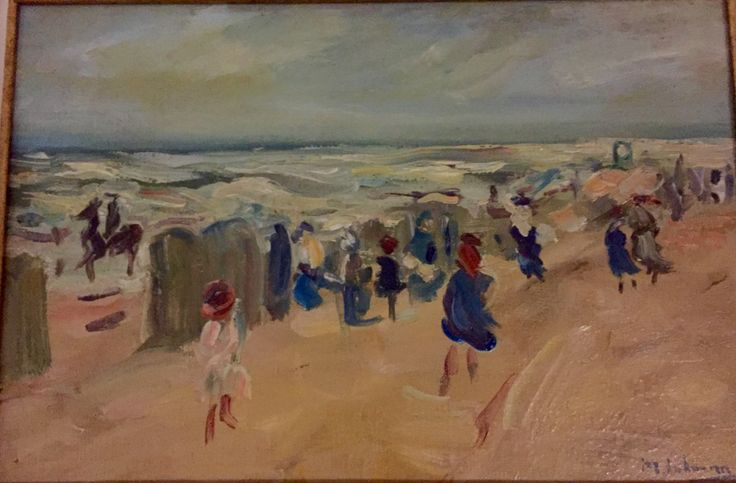 Max Liebermann, Strand im Sturm