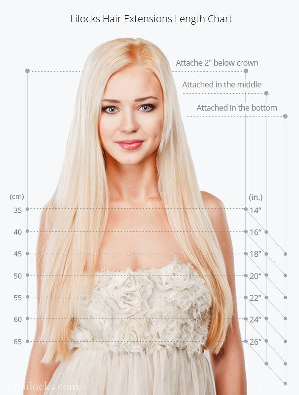 19 best lilocks hair extension images on pinterest hair lilocks at mylilocks hair extension length chart pmusecretfo Choice Image