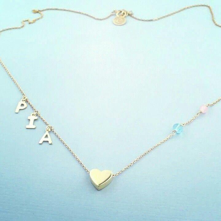 Fio em prata 925 banhada a ouro de 18kl com quartzos   #personalizar #nomes #letras #roseblossom