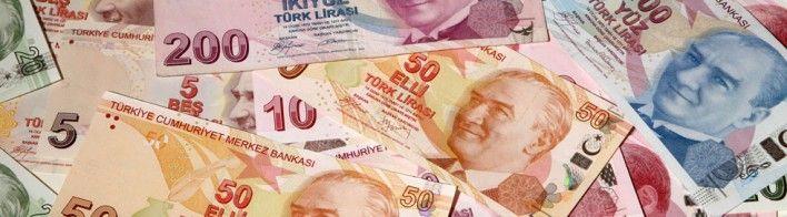Turkish liras - Money