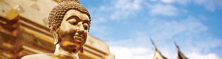 In Thailand heeft iedere dag z'n eigen Boeddha. De mensen geloven namelijk dat op deze dagen iets speciaals gebeurde in het leven van de Boeddha. De dag-Boeddha wordt als geluksbrenger gezien en kleurt het karakter van personen die op die dag zijn geboren. Ontdek welke boeddha jouw geboortedag Boeddha is en jou gelukt brengt!