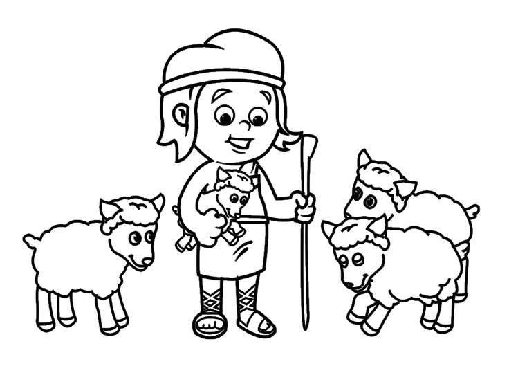 David and goliath coloring page bible coloring pages for David and goliath coloring pages for preschoolers