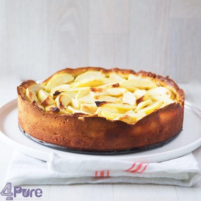 Toffee apple pie - 4Pure #recipe #toffee #apple #pie #applepie