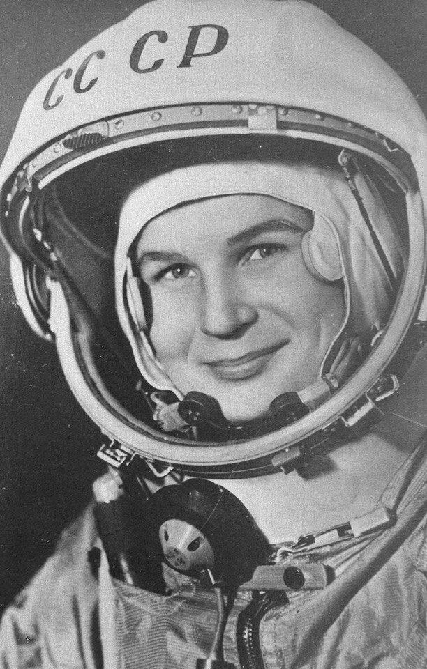 6 Марта первая в мире женщина-космонавт Валентина Терешкова отмечает 80-летний юбилей!