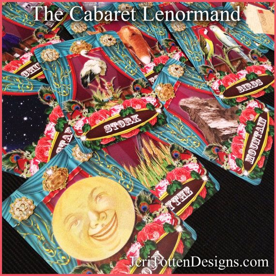 The Cabaret Lenormand Card Deck
