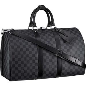 Louis Vuitton Damier Graphite Keepall 45 -- future gym bag for when I m  rich.  1c5cc8c03349c