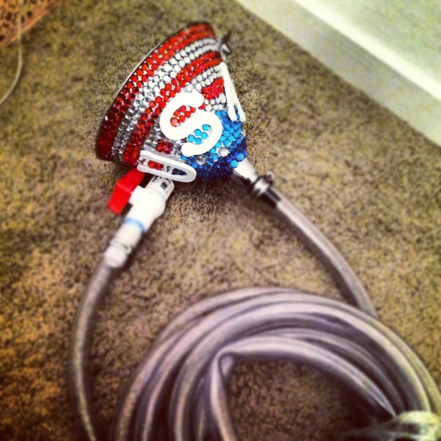 USA beer hose.