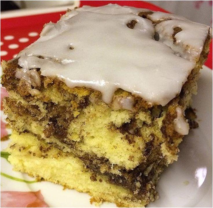 Αρωματικό εύκολο κέικ κανέλας
