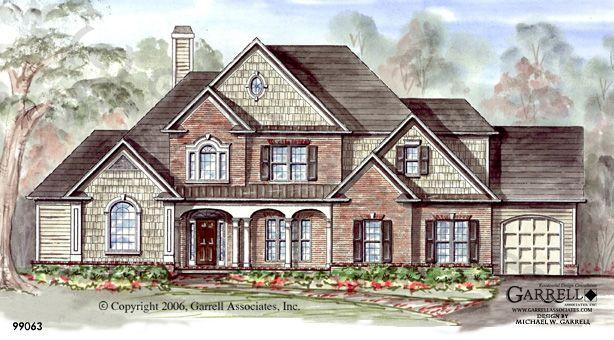 Garrell Associates Inc Sedgefield House Plan 99063