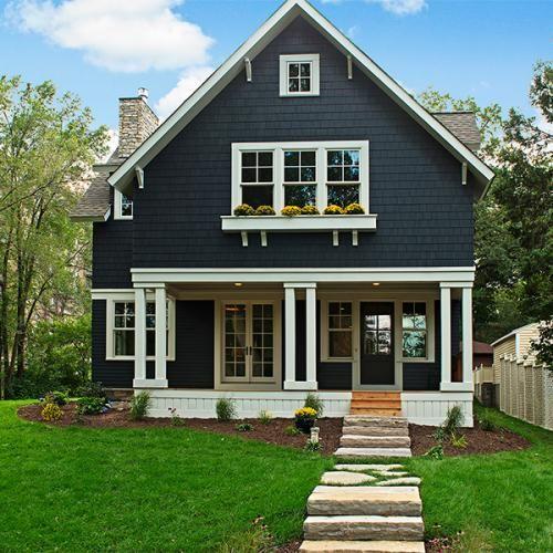 Exterior Home Color Ideas: 40 Best Arts & Crafts House Exteriors Images On Pinterest