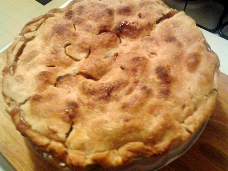 Basic Apple PIe | Love Bites with Lesa | Pinterest | Apple Pies, Pies ...
