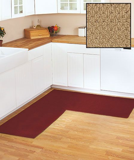 Natural Color Berber Corner L Shaped Non Slip Rug  Runner Kitchen/Bathroom/Garage #Unbranded #Berber | Rugs | Pinterest |  Natural Colors, Rugs And Colors