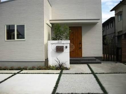 造園 プラン 新築 外構 角地 - Google 検索