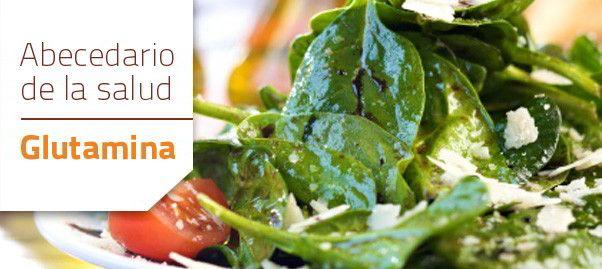 verduras con glutamina