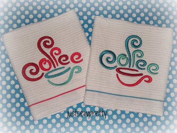 10 best coffee images on pinterest embroidery designs