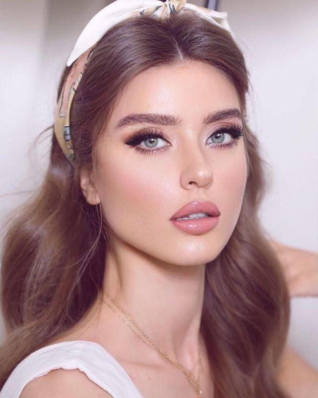 natural glam makeup looks for brunettes with hazel eyes ...