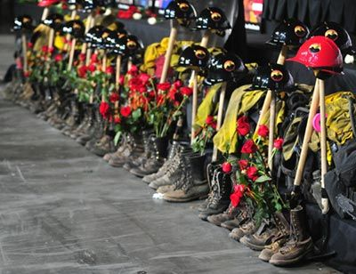 Photo Gallery: Our Fallen Brothers, A Celebration of Life for 19 Granite Mountain Hotshots Gallery 1 - The Prescott Daily Courier - Prescott, Arizona