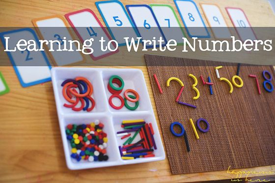 Learning to write numbers for the first time can be daunting and this activity can be a great help for your little ones..  http://bit.ly/2uA8xgG