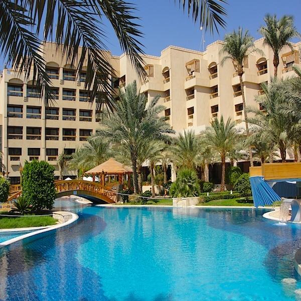 Amazing Pool Of The Intercontinental Red Sea Aqaba Jordan Amman Jordan