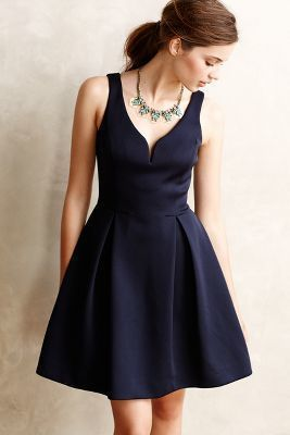 Ali Ro Ravine Flared Dress... i would love this to be a bridesmaid dress.... i love the shape of it <3