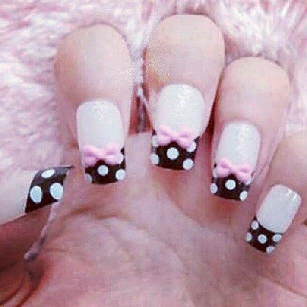 Mejores 53 imágenes de Diseños de uñas <3 en Pinterest   Uñas ...