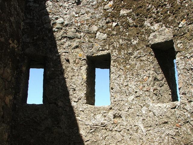 Sintra, Moorish Castle. Portugal. September 2009