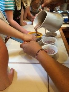 """The Kids Cooking with Cacao… DIY Cocoa Tea and Inca Hot Chocolate"" A new post on Mom Dishes It Out"