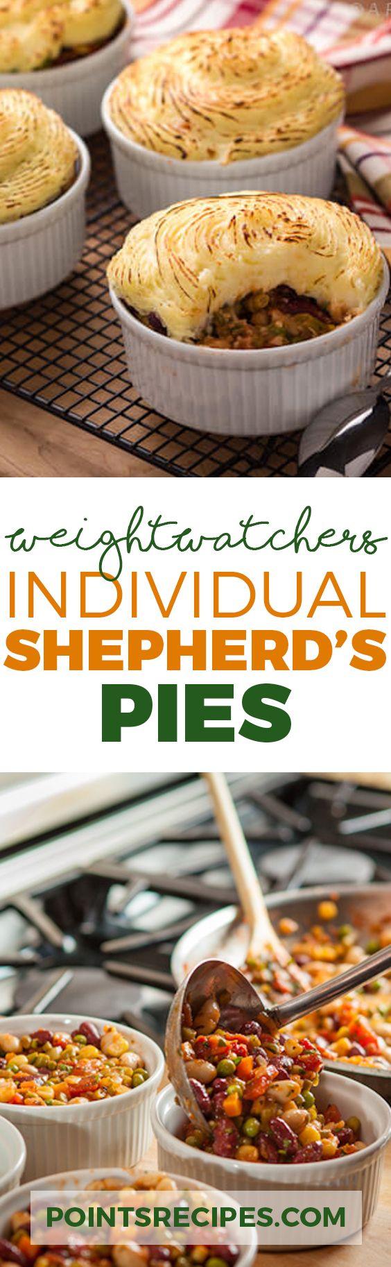Individual Shepherd's Pies (Weight Watchers SmartPoints)