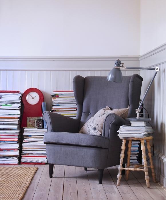 Sillón STRANDMON, una versión mejorada del sillón que IKEA lanzó en 1951